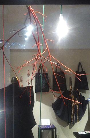 Popup shop 2014, borse in tessuto Barbara Bongiana